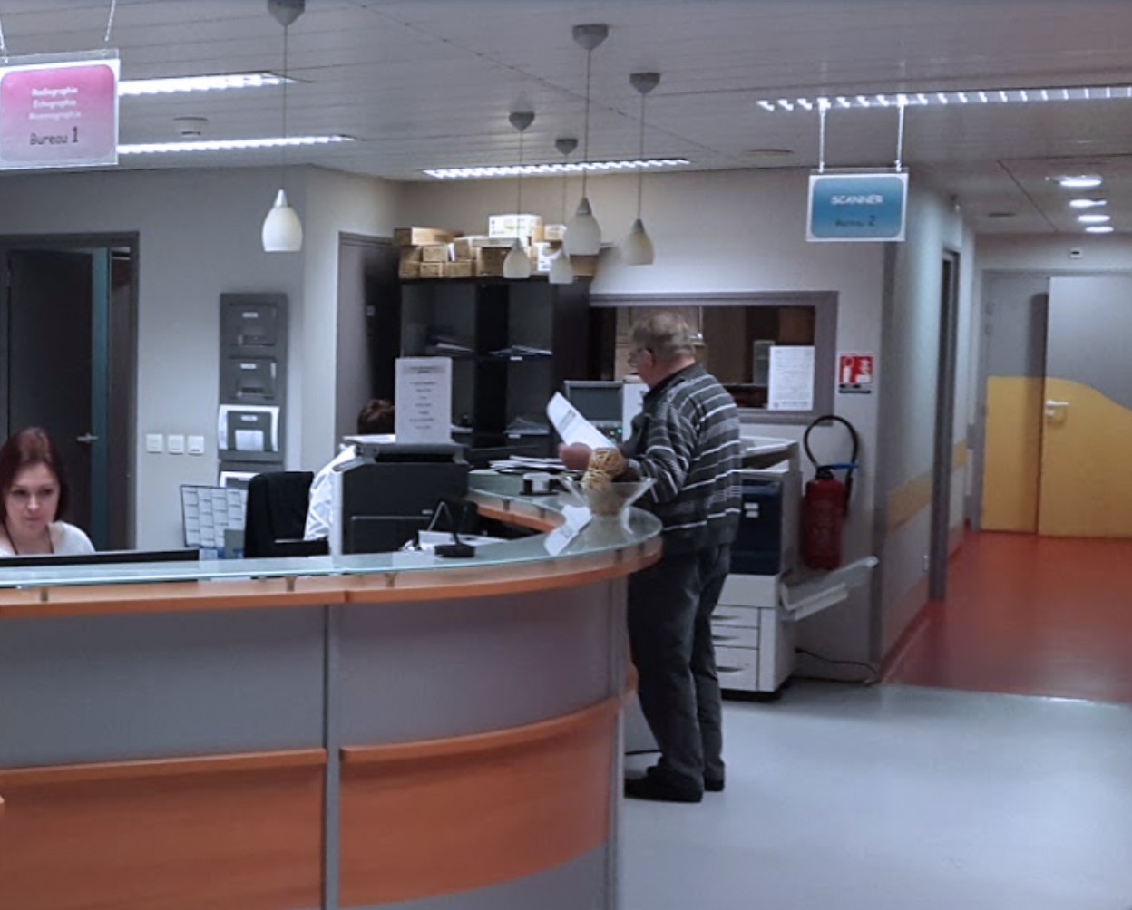 Accueil de la Clinique Villette à Dunkerque